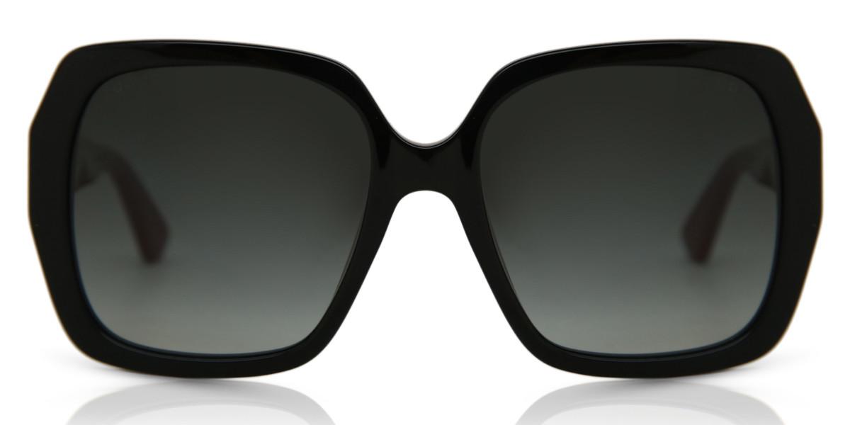 Gucci GG0096S 003 Women's Sunglasses Black Size 54 - Free RX Lenses