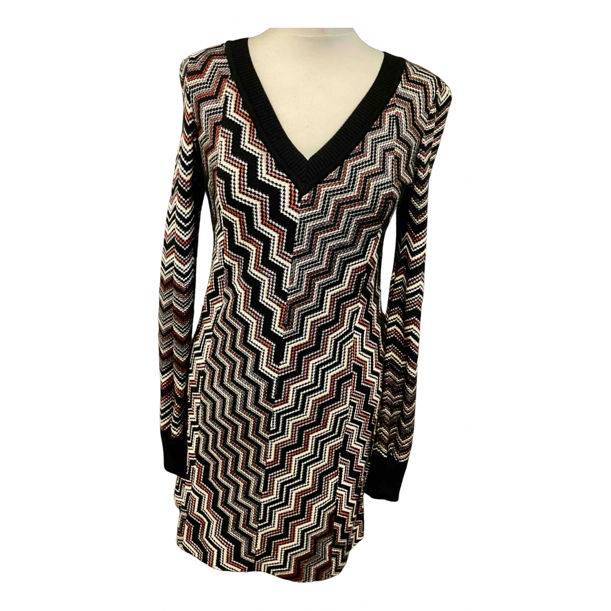 Missoni N Burgundy Cotton dress for Women 36 FR
