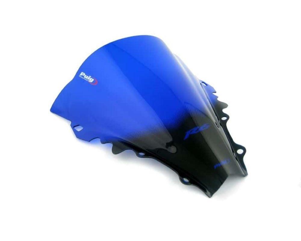 Puig 4059A Racing Windscreen - Blue Yamaha YZF-R6 2006