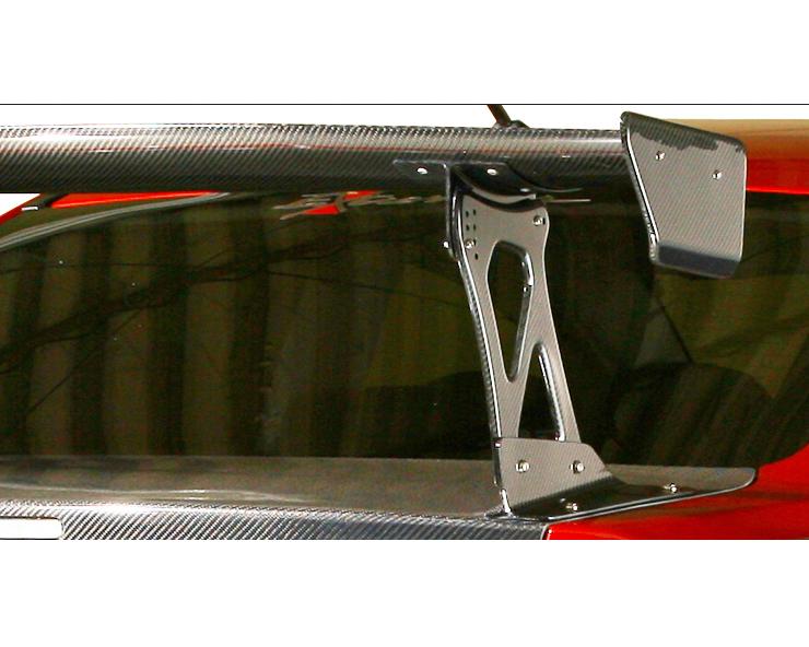 Varis VGW-M03F FRP GT Street | Euro Wing Bracket for Evo X Mitsubishi EVO X CZ4A 08-15