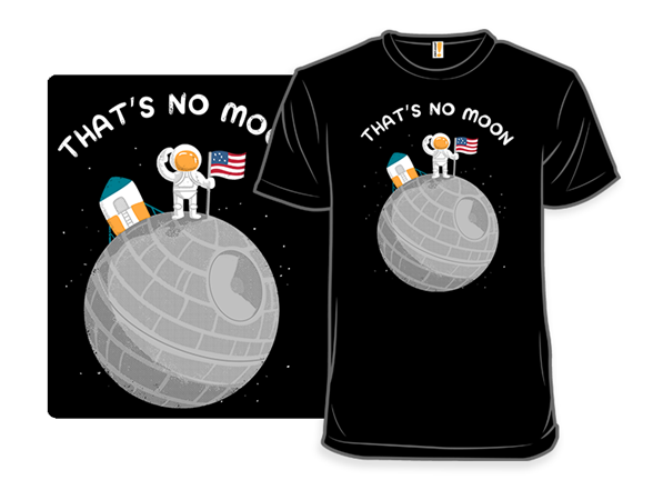 No Moon Landing T Shirt