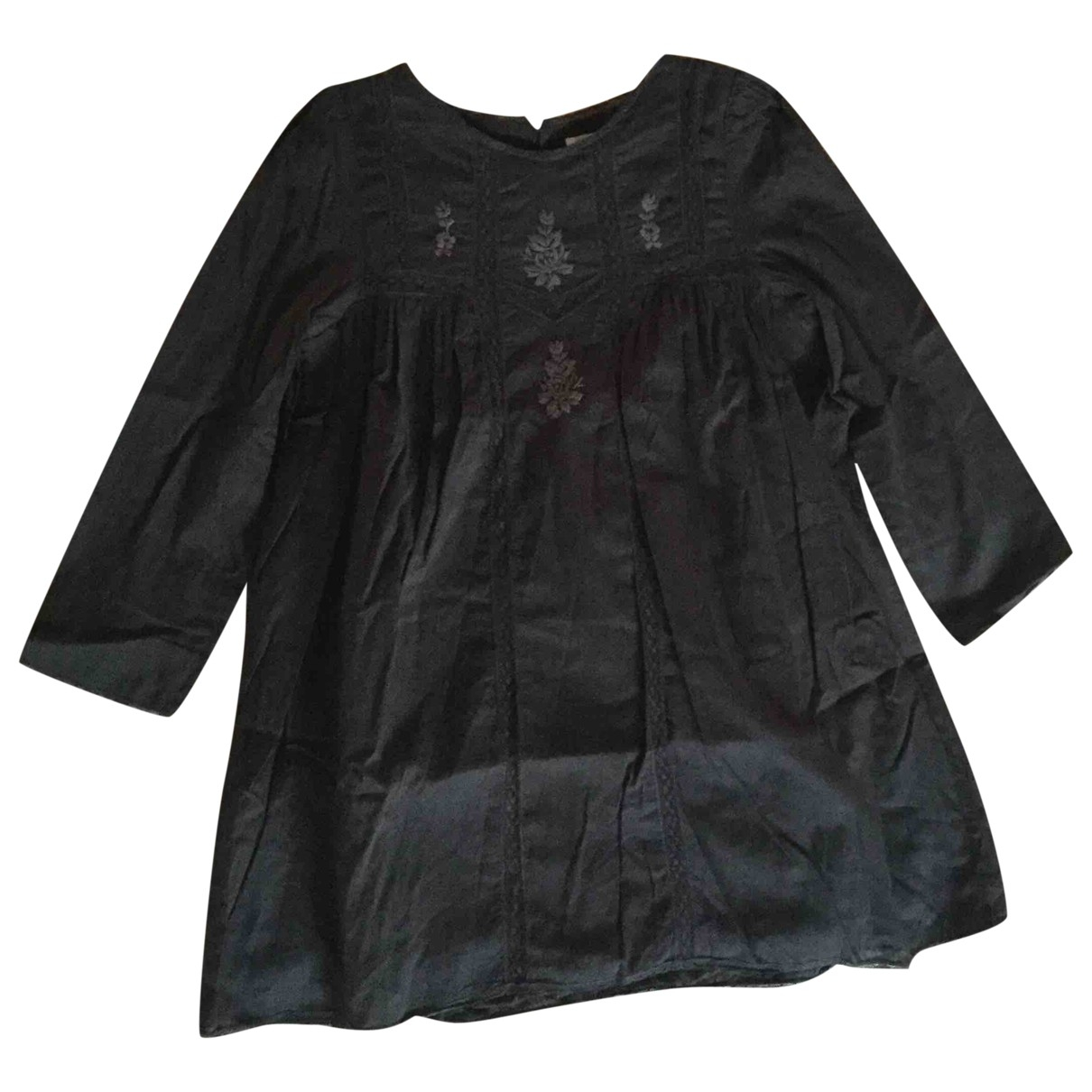 Bonpoint - Robe    pour enfant en coton - gris