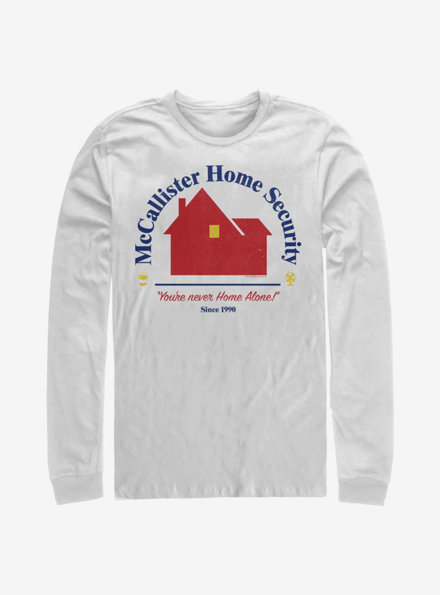Home Alone Home Security Long-Sleeve T-Shirt