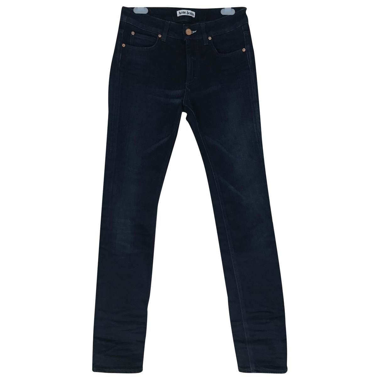 Madewell \N Blue Cotton - elasthane Jeans for Women 28 US