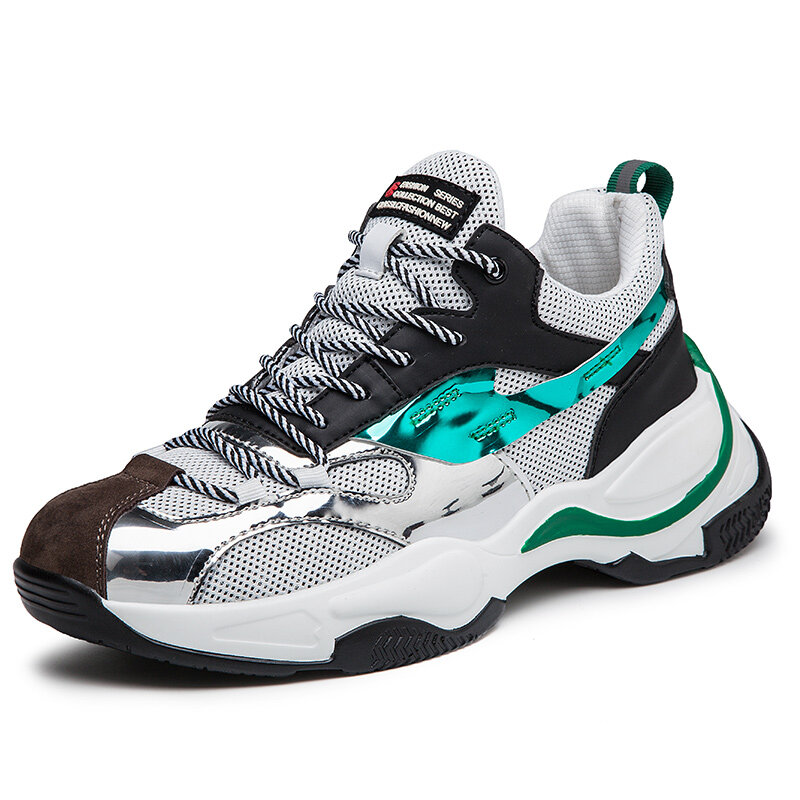 Men Mesh Outdoor Lace Up Sport Casual Running Shoes