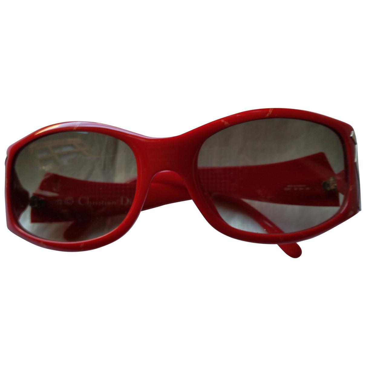 Dior \N Sonnenbrillen in  Rot Kunststoff