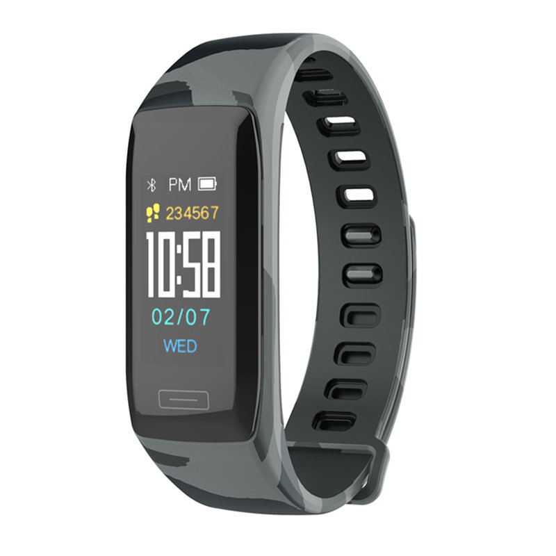 V7 Dialog Camouflage Strap Smart Bracelets Sleep Monitor Tracker Sport Best Fitness Smart Watches