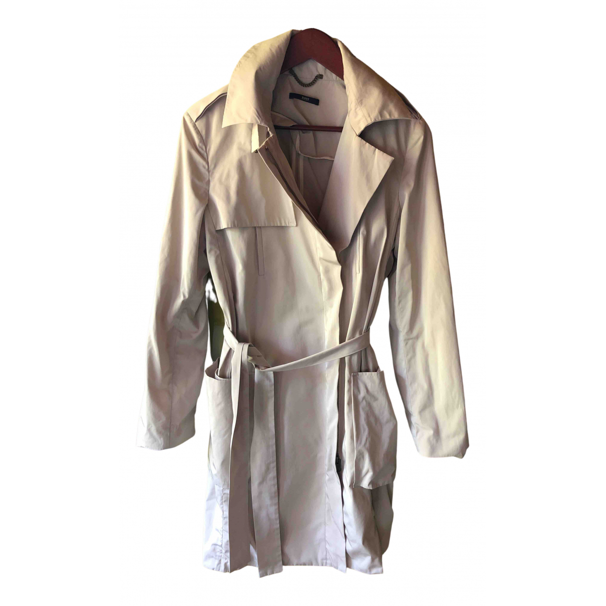 Hugo Boss \N Beige Trench coat for Women 10 UK