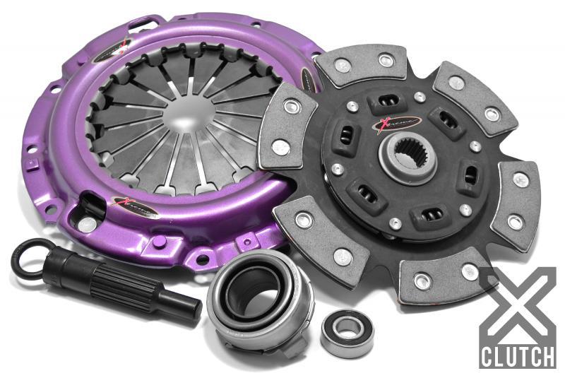 XClutch XKMZ22015-1B Clutch Kit Stage 2 Single Sprung Ceramic Clutch Disc Mazda Miata 2004-2005 1.8L 4-Cylinder