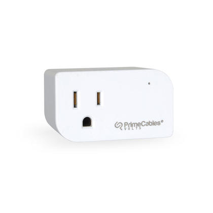 Mini Smart Outlet Wifi Socket with Timer Function, Compatible with Alexa, Google Home - PrimeCables®