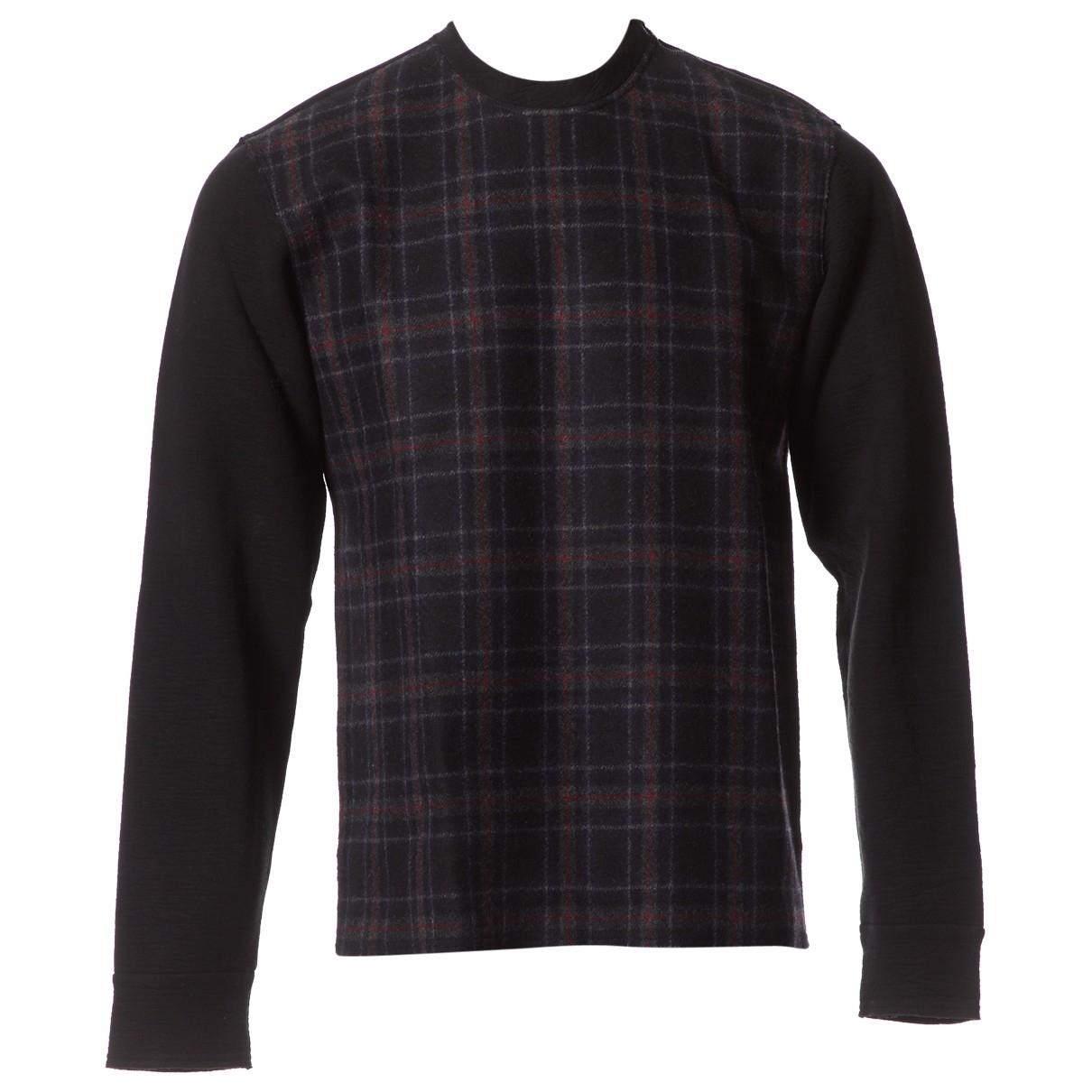 Lanvin \N Pullover.Westen.Sweatshirts  in  Schwarz Baumwolle
