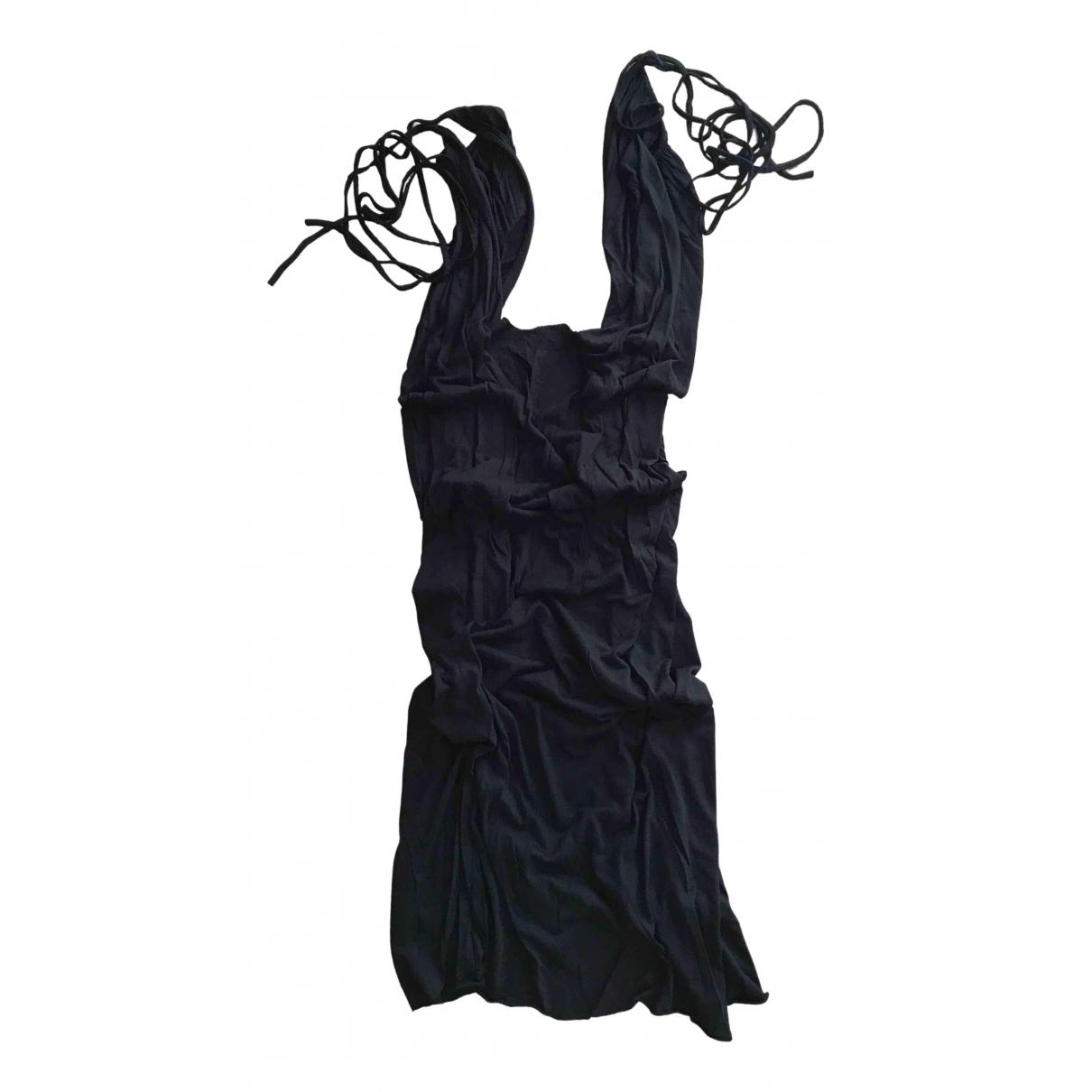 Rick Owens Lilies \N Kleid in  Schwarz Viskose