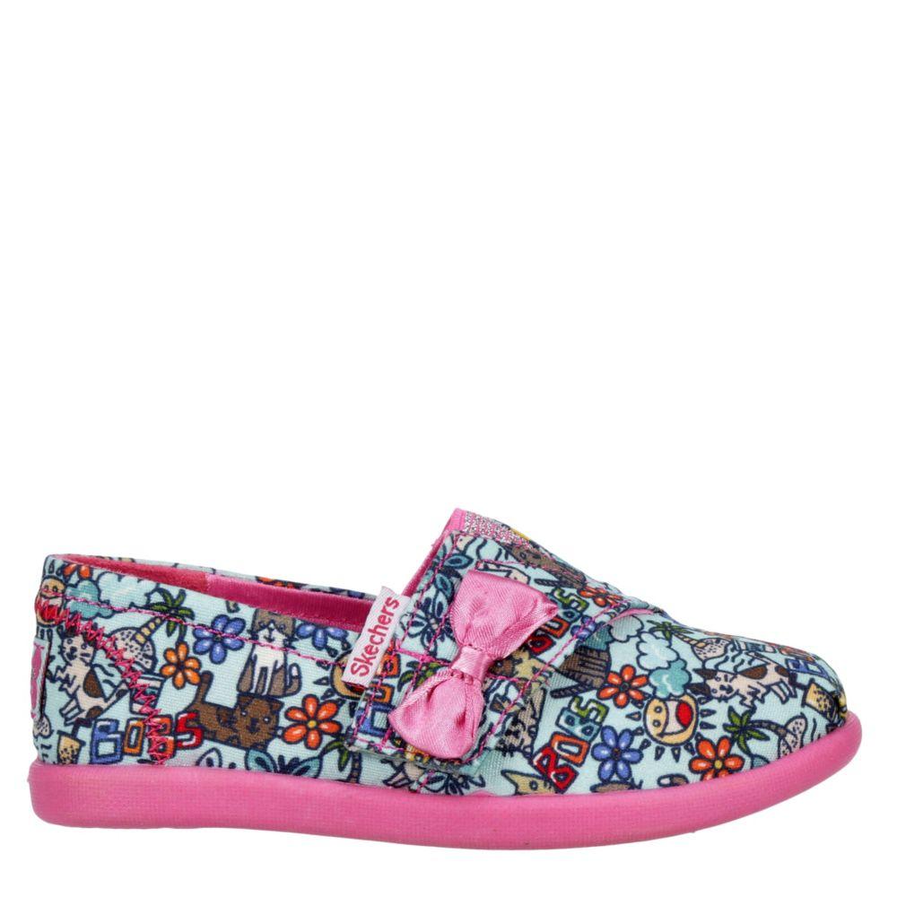 Skechers Kids Girls Lil Bobs Solestice 2.0 300005N Mtpk Flats Shoes