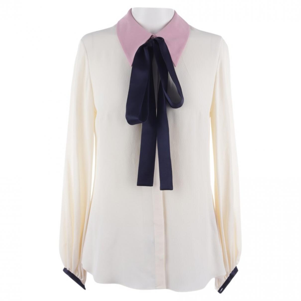 Roksanda \N Beige Silk  top for Women 34 FR