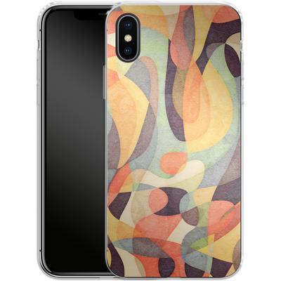 Apple iPhone X Silikon Handyhuelle - From Darkness von Georgiana Teseleanu
