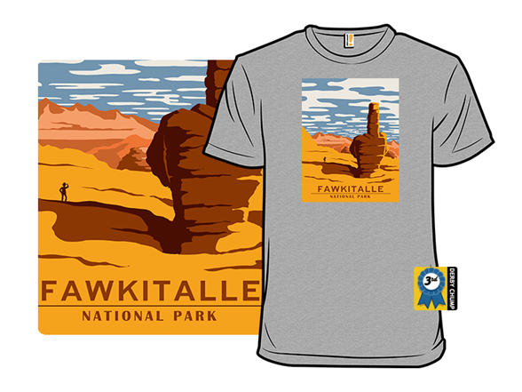 Fawkitalle National Park T Shirt
