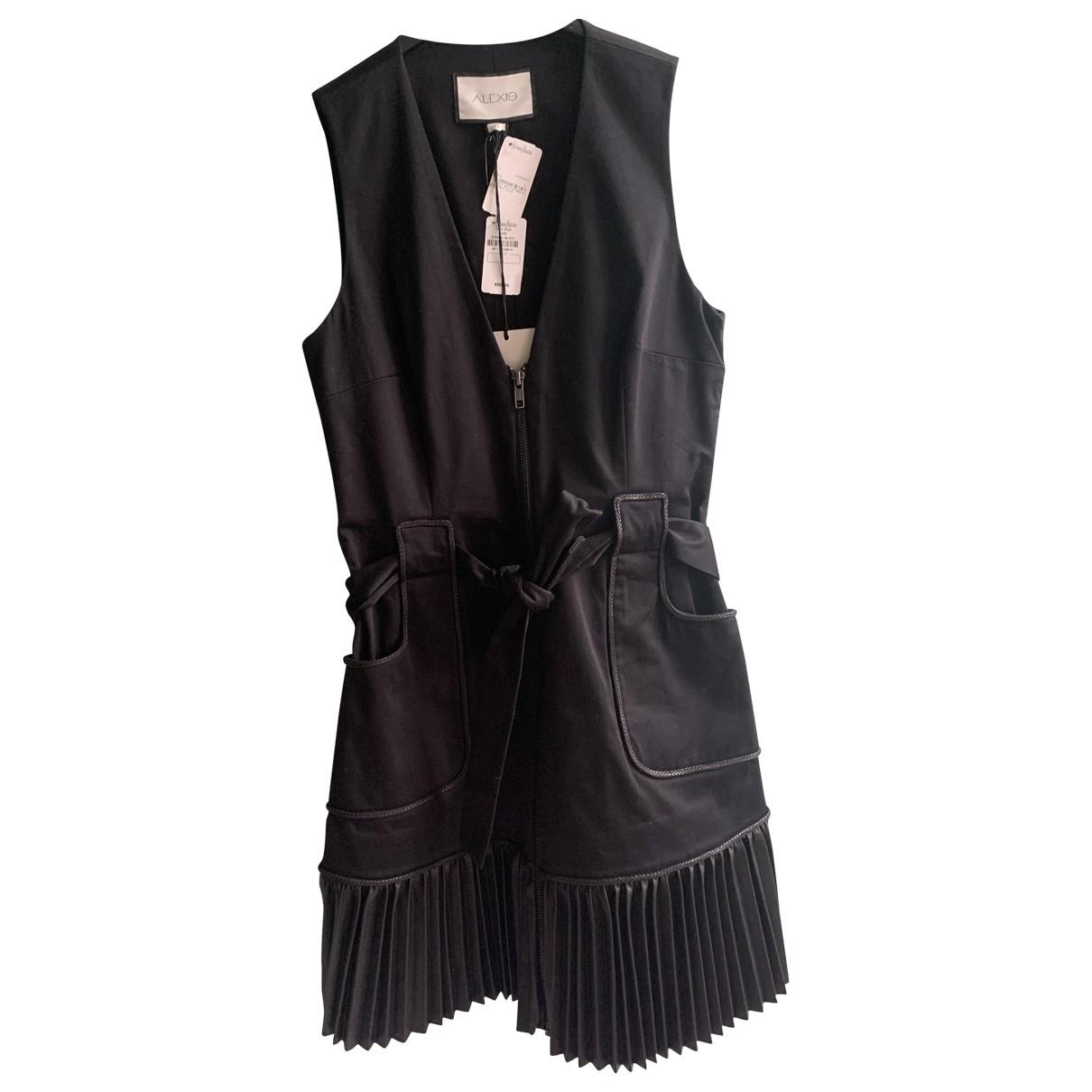 Alexis \N Black Cotton dress for Women 0 0-5