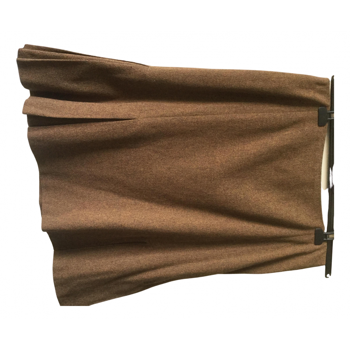Kenzo \N Camel Wool skirt for Women 44 FR