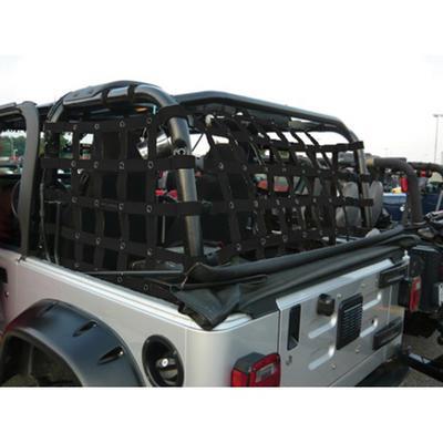 DirtyDog 4x4 Rear Cargo Netting (Black) - T2NN97RCBK