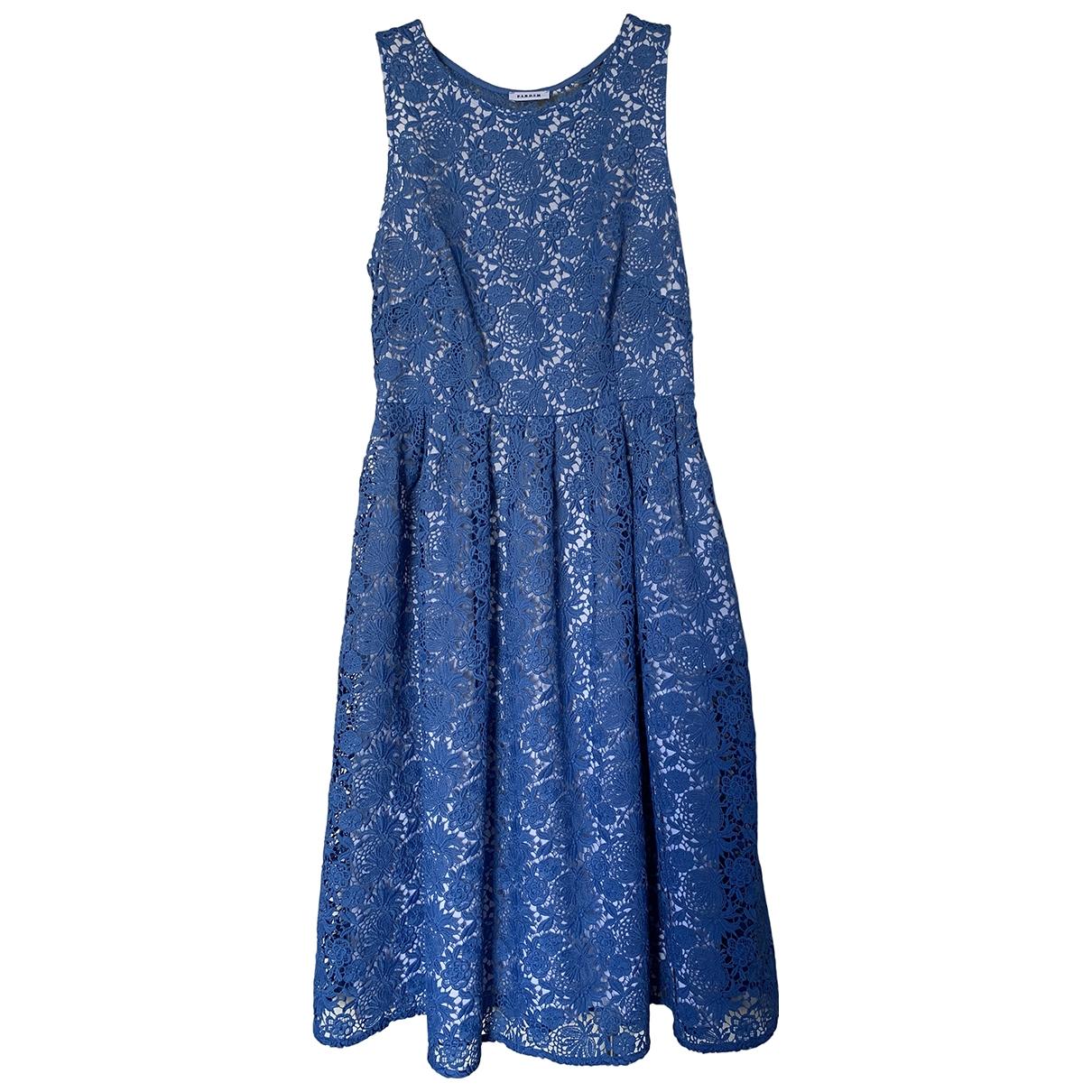 Parosh - Robe   pour femme - bleu