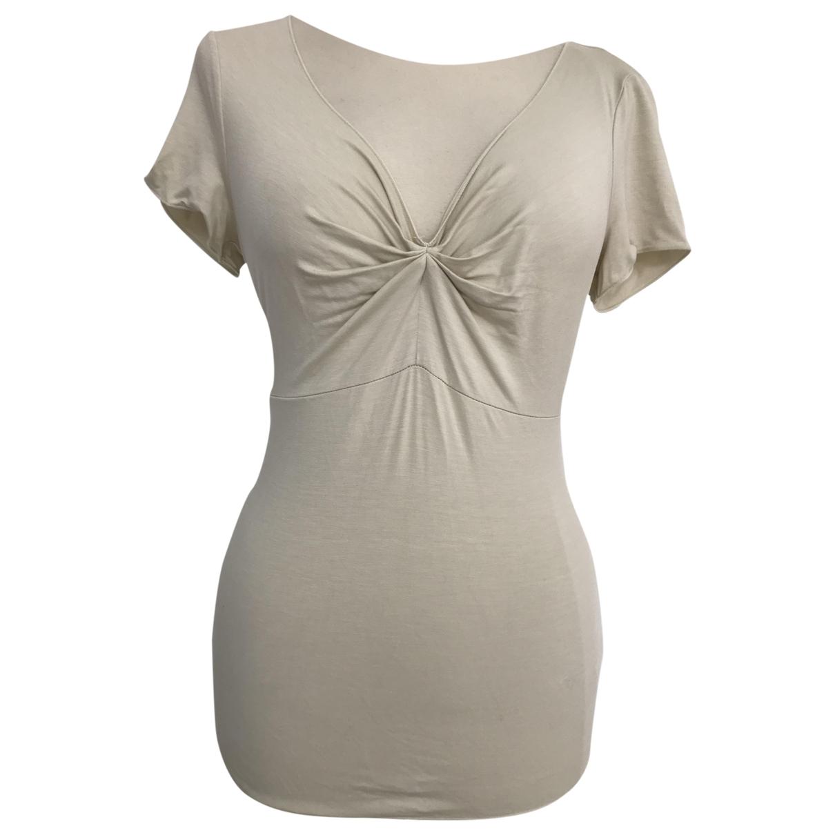 Armani Collezioni - Top   pour femme - beige