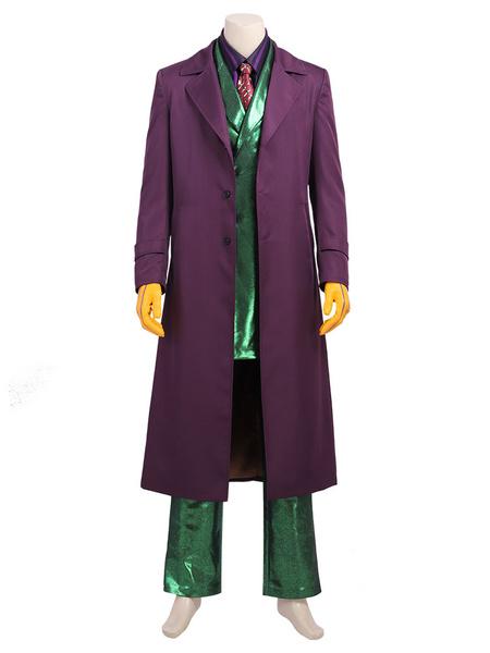 Milanoo DC Gotham Fortnite Joker Cosplay Costume
