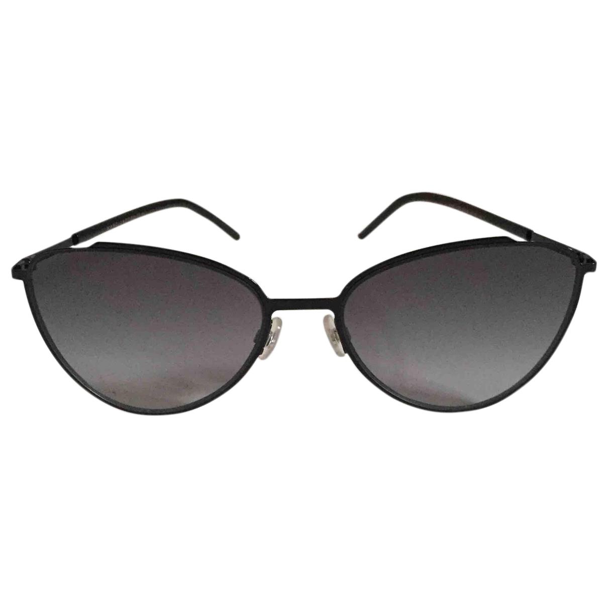 Marc Jacobs \N Sonnenbrillen in  Schwarz Metall