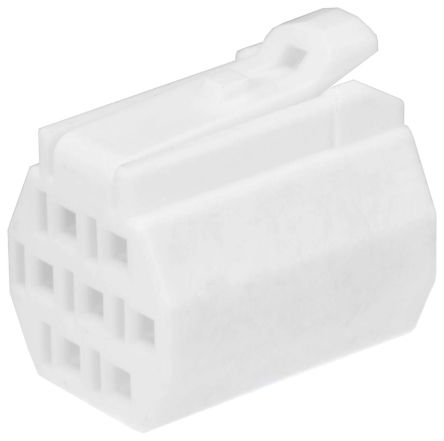 Hirose , DF62 Female Connector Housing, 2.2mm Pitch, 3 Way (10)