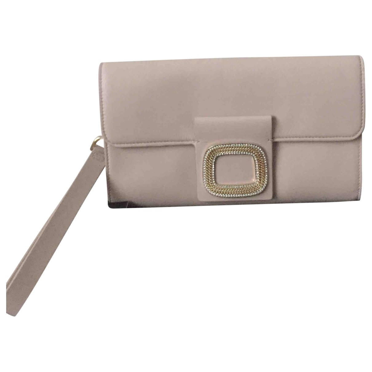 Guess \N Pink Leather Clutch bag for Women \N