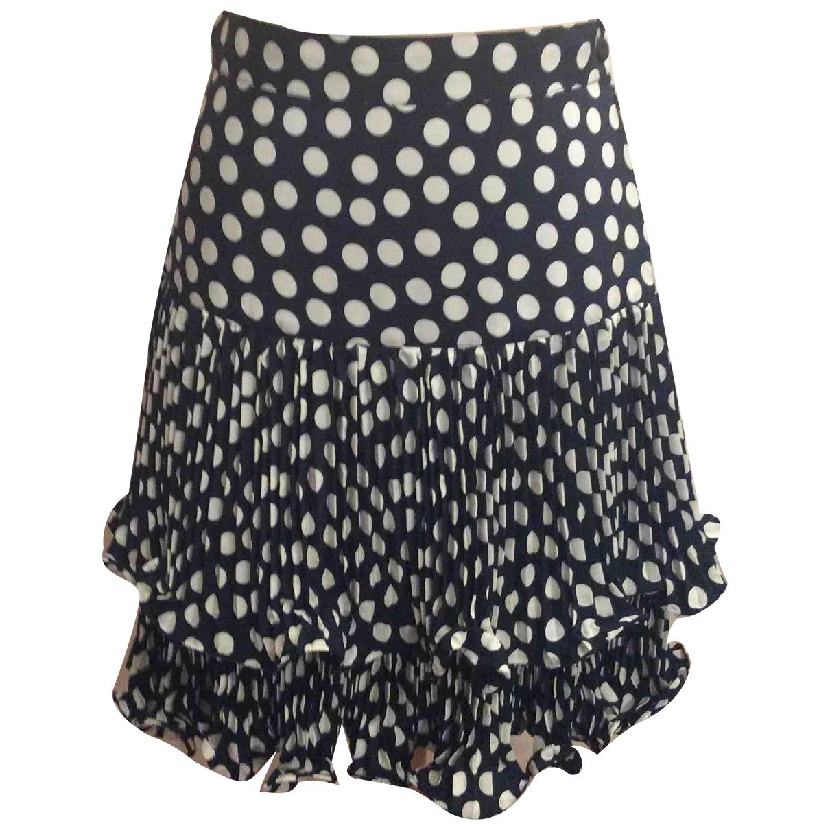Autre Marque N Blue skirt for Women 44 IT
