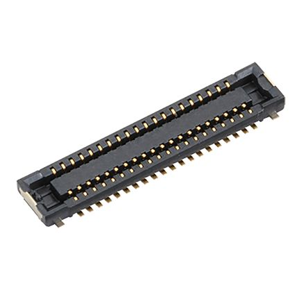 Panasonic , A4S 0.4mm Pitch 16 Way 2 Row PCB Socket, Surface Mount, Solder Termination (500)