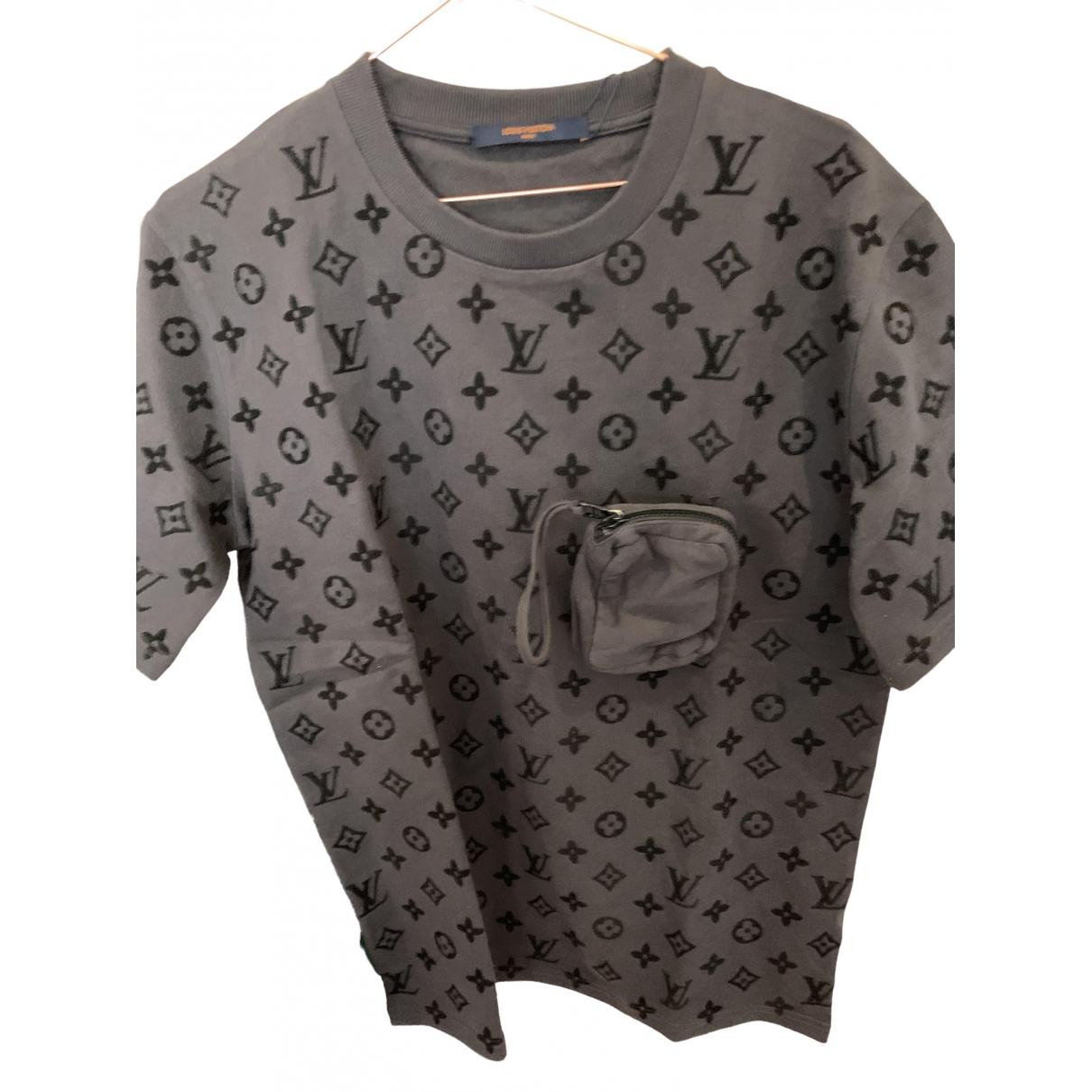 Louis Vuitton \N T-Shirts in  Grau Baumwolle