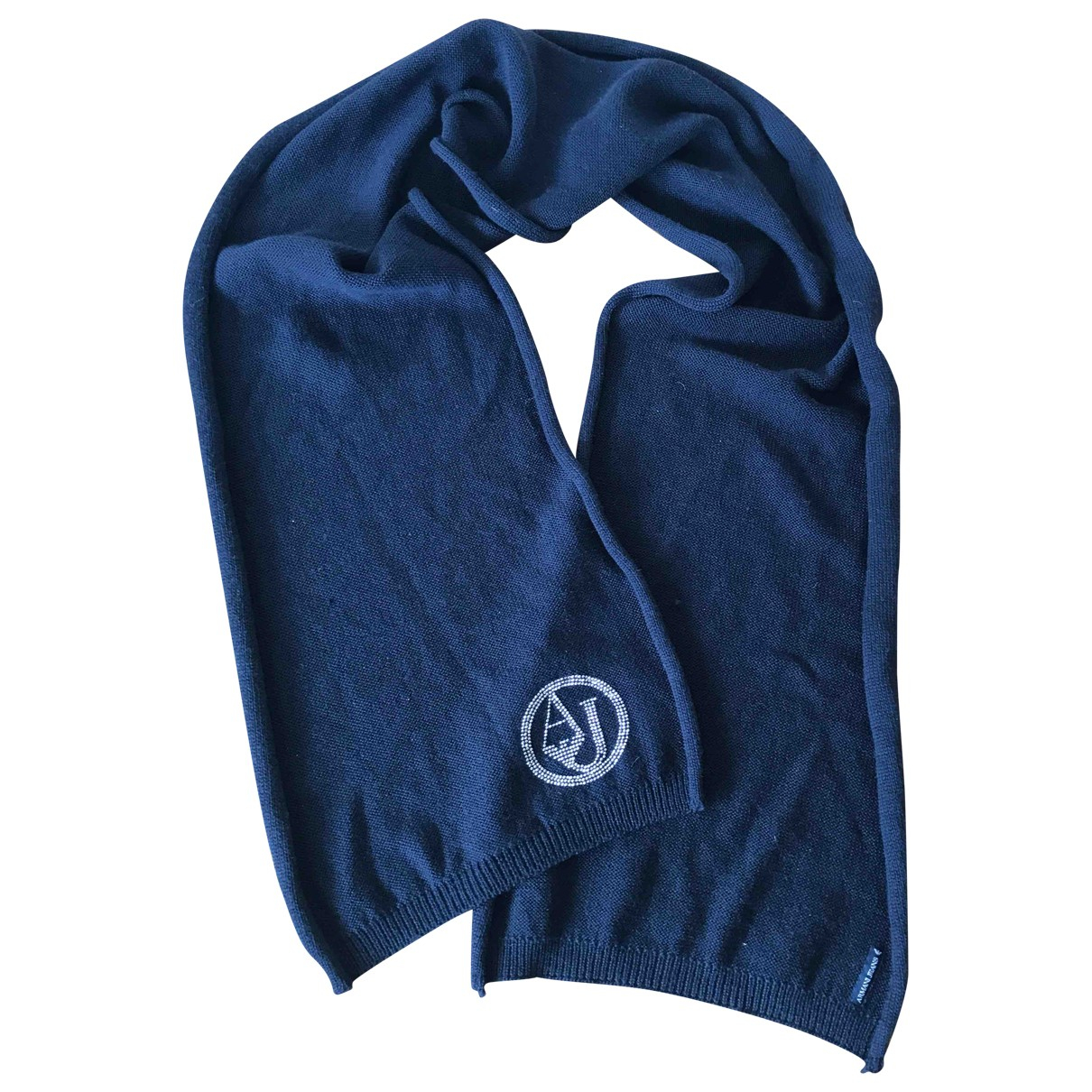 Armani Jeans \N Blue Cotton scarf for Women \N