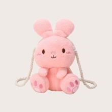 Rabbit Fluffy Crossbody Bag
