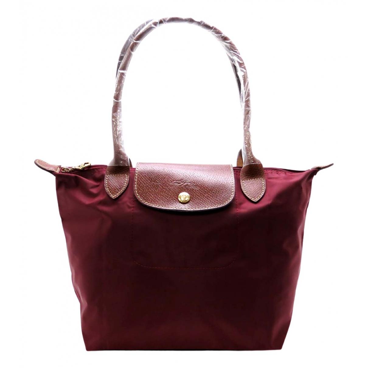 Longchamp N Red Cloth handbag for Women N
