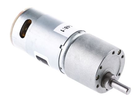 RS PRO DC Motor, 11 W, 4.5 → 15 V, 206 gcm, 5216 rpm, 6mm Shaft Diameter