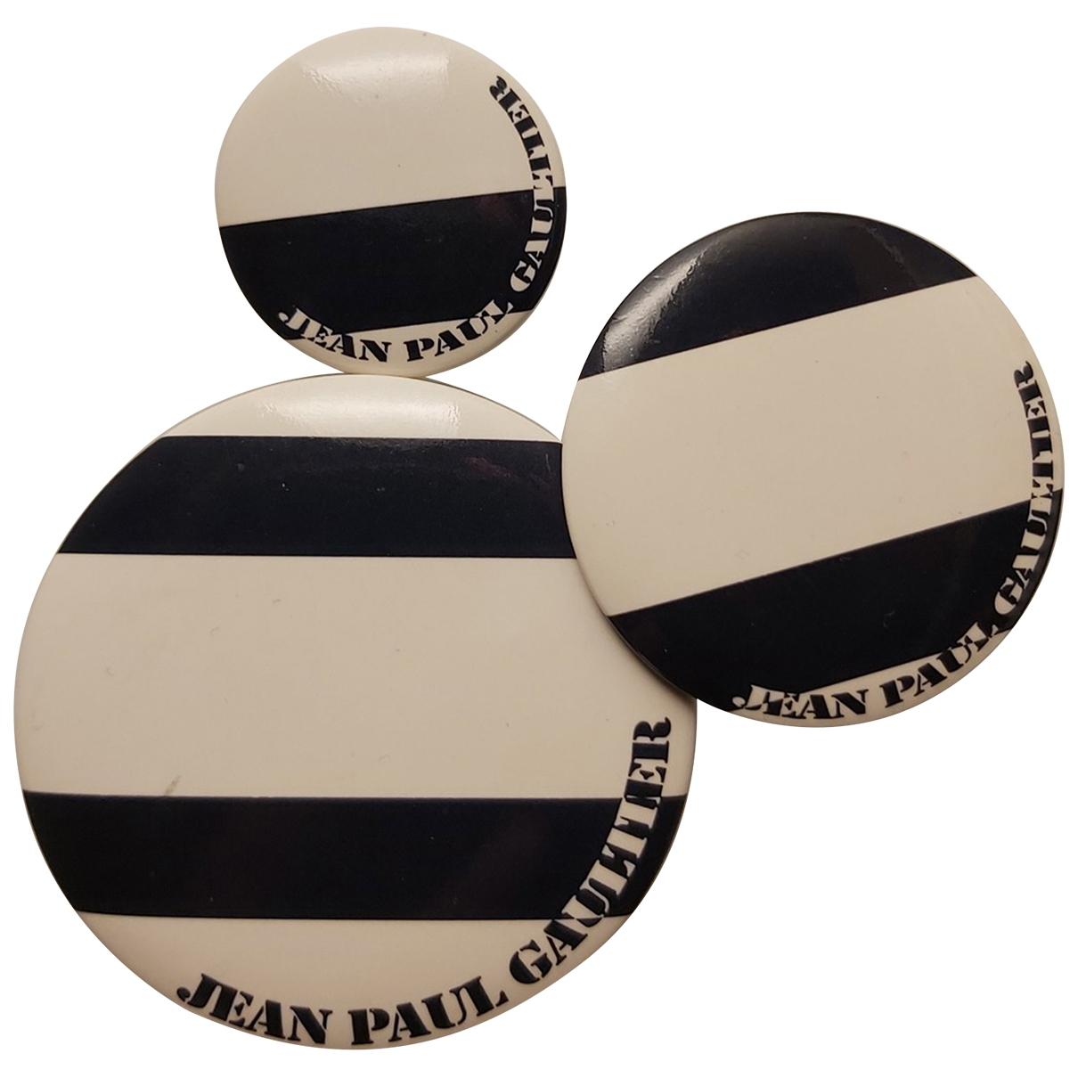 Broche en Plastico Jean Paul Gaultier