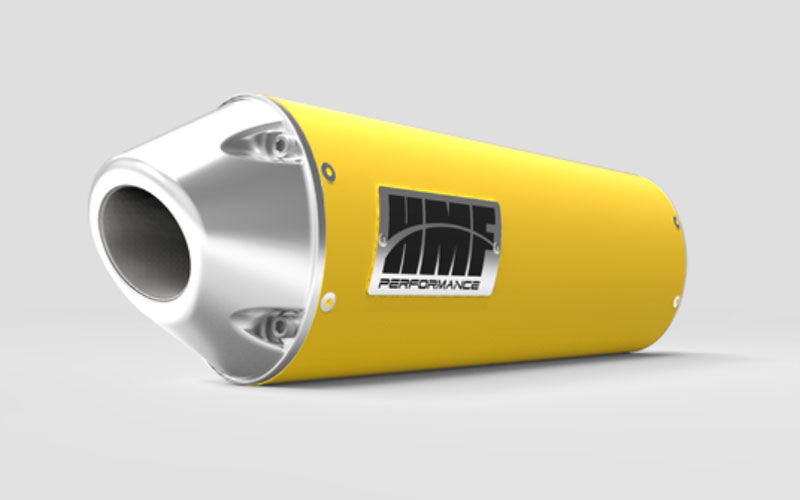 HMF Racing 20603726386 Honda CBR 250R Slip On Exhaust Systems Yellow