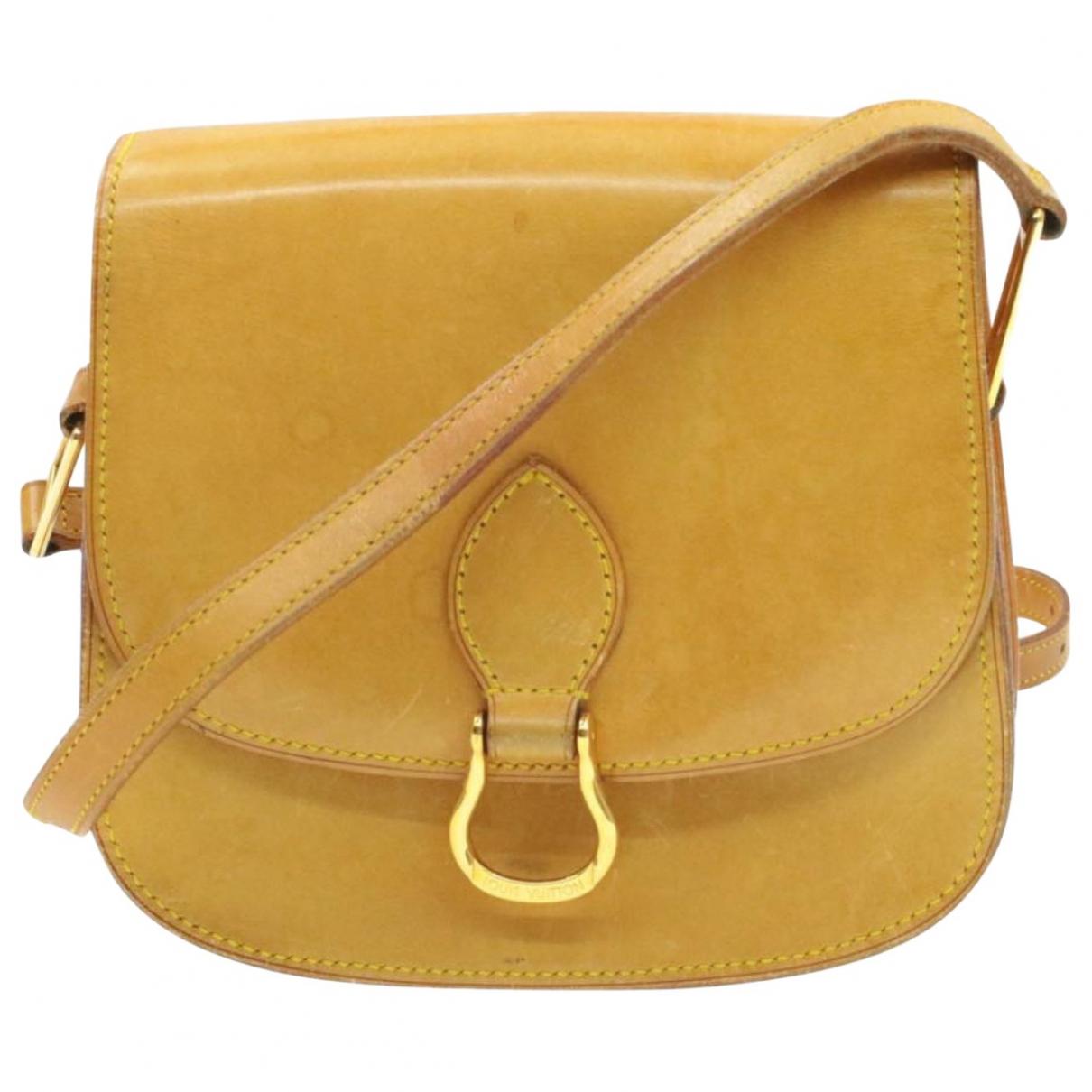 Louis Vuitton Saint Cloud Handtasche in  Braun Leder
