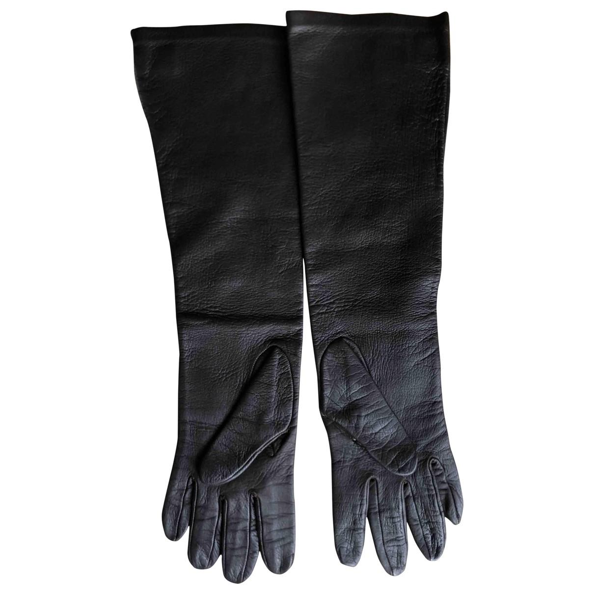Salvatore Ferragamo \N Handschuhe in  Braun Leder