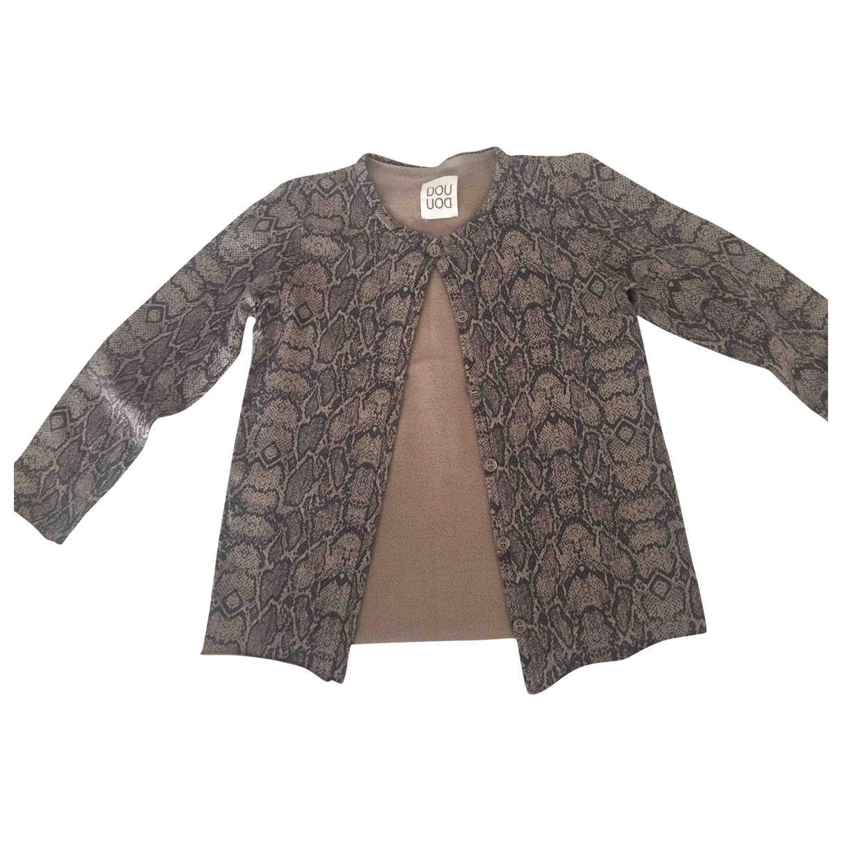 Douuod \N Brown Cotton Knitwear for Kids 8 years - up to 128cm FR