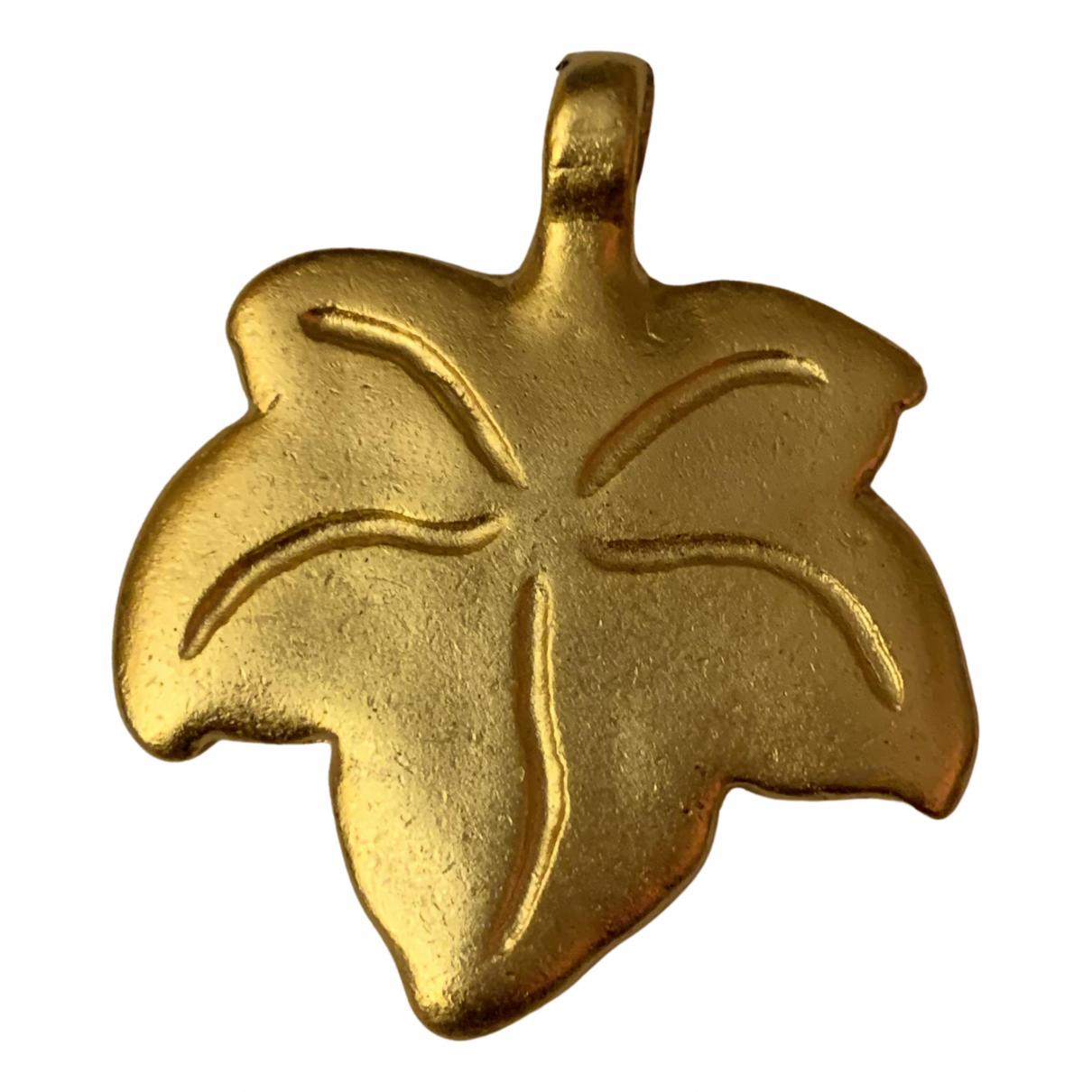 Non Signe / Unsigned \N Anhaenger in  Gold Vergoldet