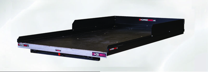 Slide Out Truck Bed Tray 1000 lb Capacity 100 Percent Extension 20 Bearings Alum Tie-Down Rails Plywood Deck Fits Avalanche/Escalade (Drill applicatio