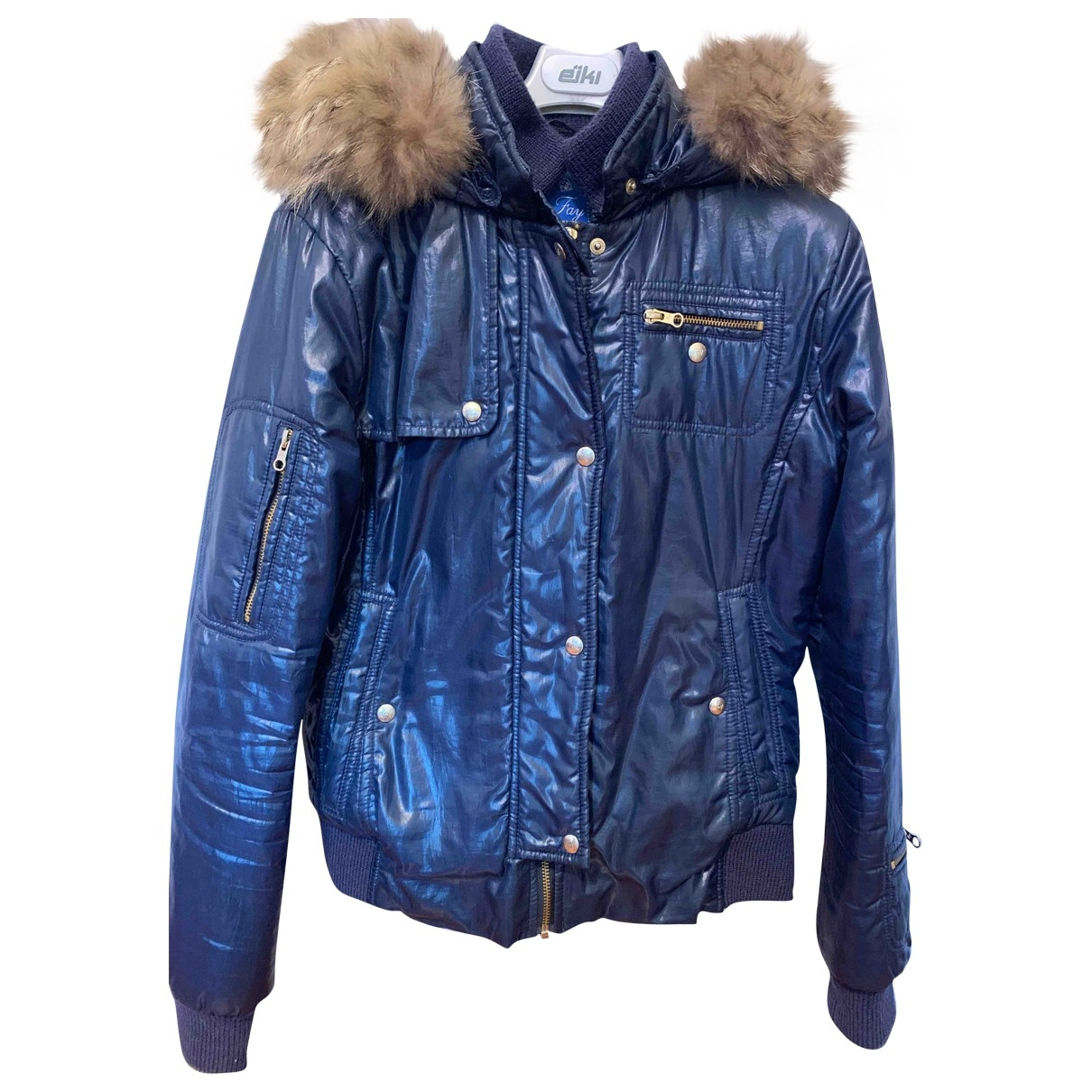 Fay \N Blue jacket & coat for Kids 14 years - S UK