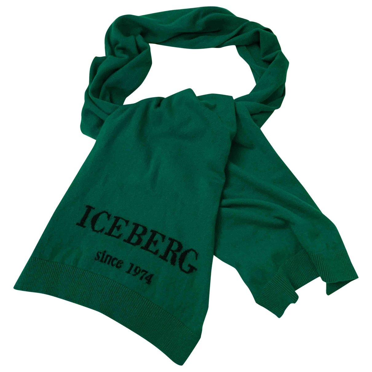 Iceberg \N Schal in  Gruen Kaschmir