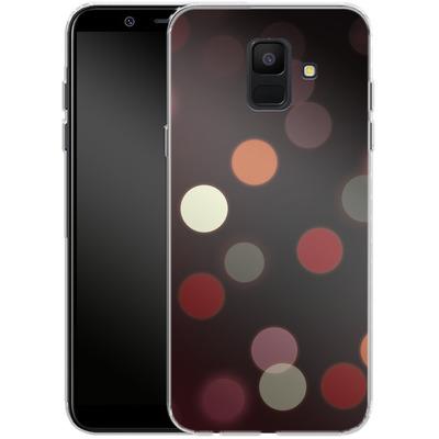 Samsung Galaxy A6 Silikon Handyhuelle - Bokeh von SONY