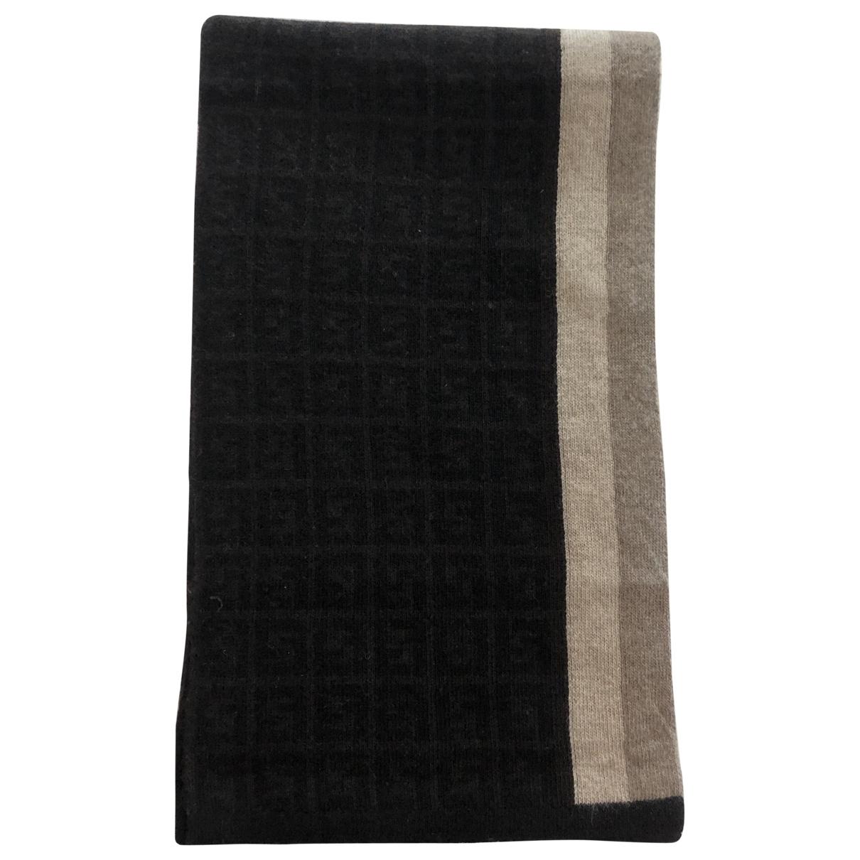 Fendi \N Tuecher, Schal in  Braun Wolle
