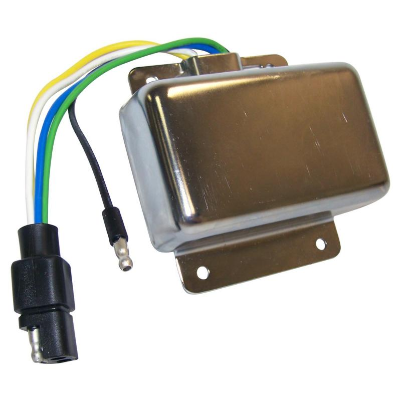 Crown Automotive J3224964 Jeep Replacement Ignition Control Module for Misc. 1975-1976 CJs w/ 6 or 8 Cylinder Engines Jeep