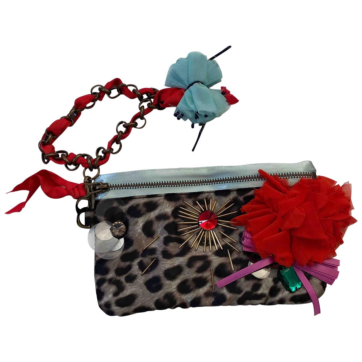Lanvin For H&m \N Multicolour Silk Clutch bag for Women \N