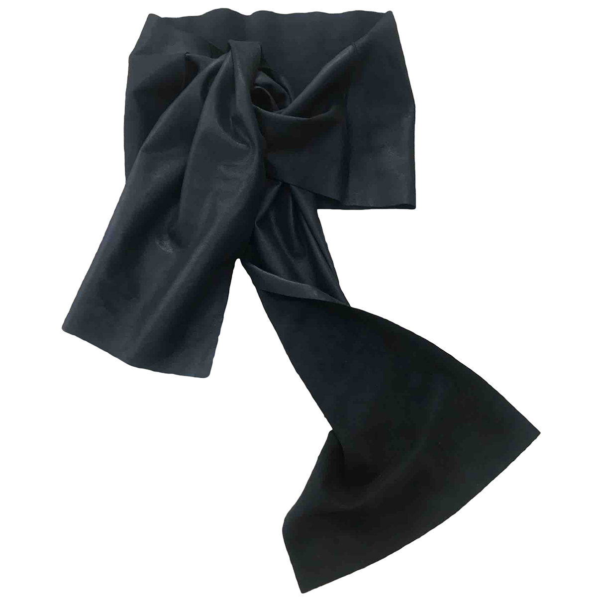 Joseph - Ceinture   pour femme en cuir - noir